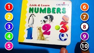 Learning Numbers for Kids Toddlers, Count 123, 1 to 10