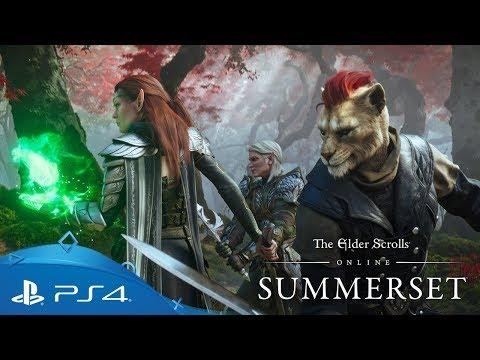 The Elder Scrolls Online: Summerset   Cinematic Trailer   PS4