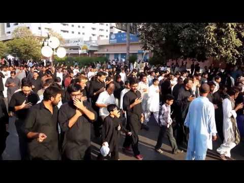 Markazi Jaloos Chehlum Shohda e Karbala Karachi 3.12.2015