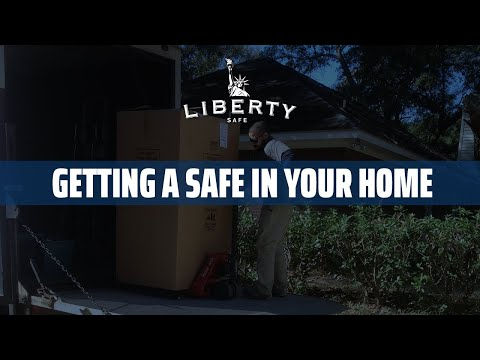 Getting Your New Safe in Your Home