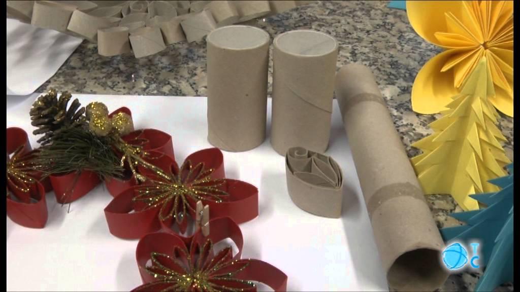 Taller de adornos navide os youtube for Materiales para hacer adornos navidenos
