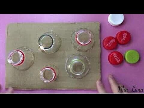 Tận dụng những chiếc nắp chai làm đồ chơi thú vị cho bé – Life skills for kids