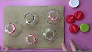 Tận dụng những chiếc nắp chai làm đồ chơi thú vị cho bé - Life skills for kids