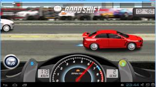 Drag Racing Mitsubishi Lancer Evo Fq