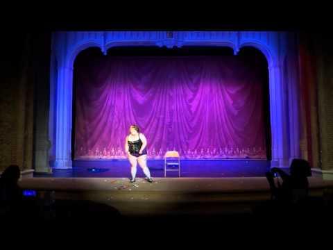 """Serena D'Muir as """"Ms September - Hot for Teacher"""" Burlesque!"""