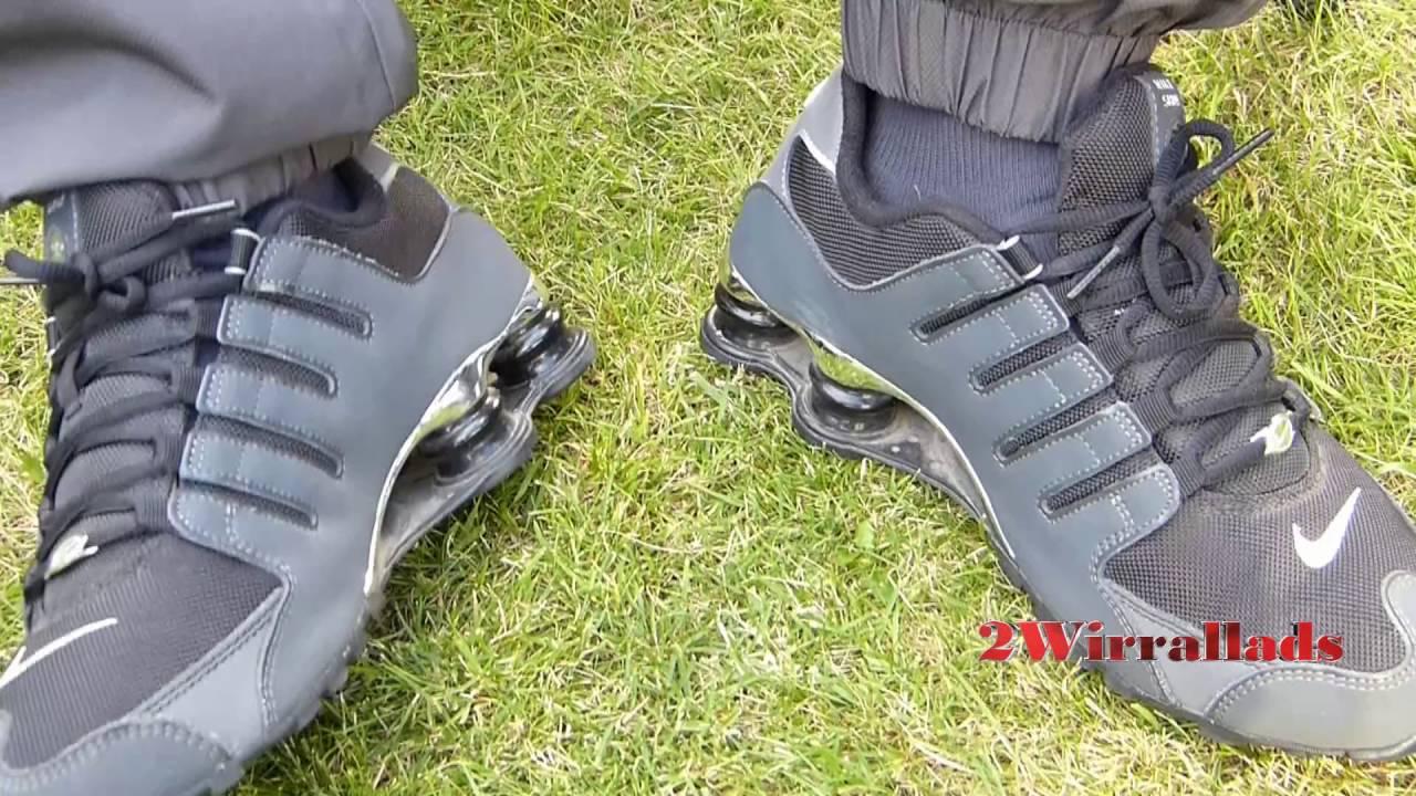 5523dec00004cb Nike Shox vs Nike 95s - YouTube