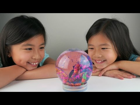 DIY Disney Finding Dory Aquarium Snow Globe