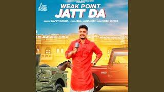 Weak Point Jatt Da (Savvy Nagra) Mp3 Song Download