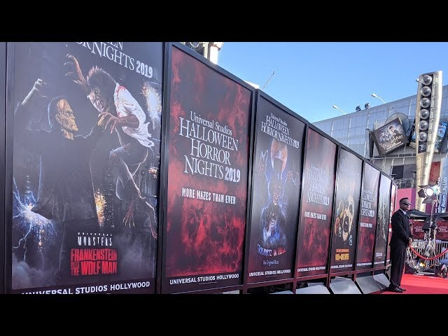 Halloween Horror Nights 2019 Red Carpet Premiere | Interviews w/the cast of Us, Ghostbusters & More!