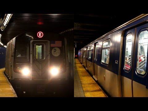 MTA New York City Subway : Refurbished R160 E Trains In The New Scheme