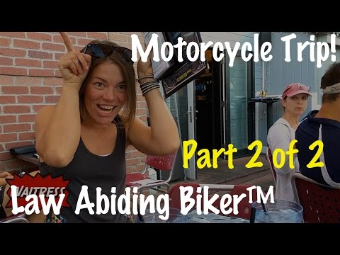 PT 2-Motorcycle Trip Documentary Movie Colorado, Utah, Wyoming, Idaho, Oregon, Washington