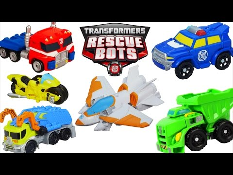 TRANSFORMERS RESCUE BOTS HUGE COLLECTION OPTIMUS BEE CHASE HEATWAVE BOULDER BLADES SALVAGE ENERGIZE