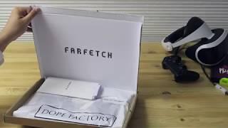 LUXE HAUL FARFETCH | Unboxing McQ Alexander Mcqueen Fear Nothing T-shirt