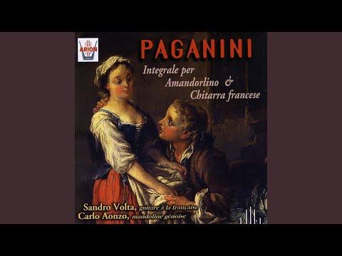 Sonate pour mandoline: Allegro moderato