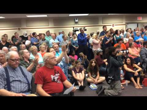 Horry County Schools transgender bathroom meeting explodes in conflict