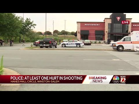 Police investigate shooting at BJ's Brewhouse near Hanes Mall in