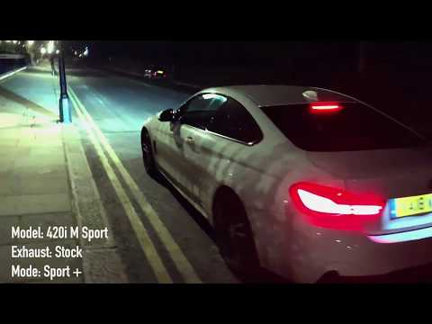 2018 BMW 420i M Sport Auto Exhaust Sound & Fly by | Gone in 60 Seconds