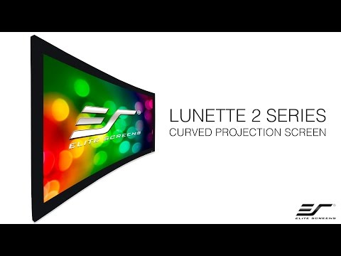 Elite Screens Lunette 2 Series Curved Projection Screen