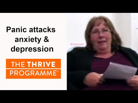 No more panic attacks, anxiety, depression or medication! The Thrive Programme changed Jackie's life