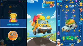 Yummy Bus - Merge & Idle Game | Gameplay  (Android)