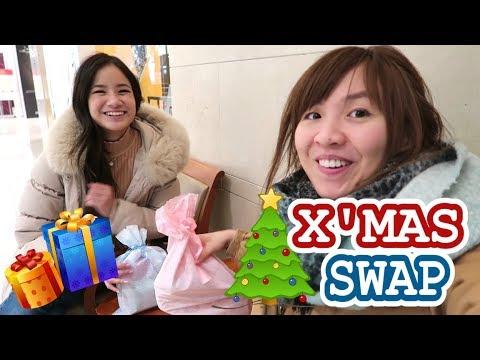 X'mas Swap With Kim Dao / Meeting Sunnydahye First Time! | Vlogmas #23