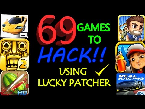 69 games you can hack with lucky patcher no root 2017✔