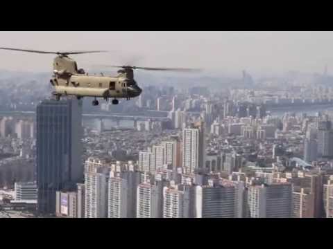 2nd CAB Chinook Tour of Seoul, South Korea Korea (Aug. 2014)