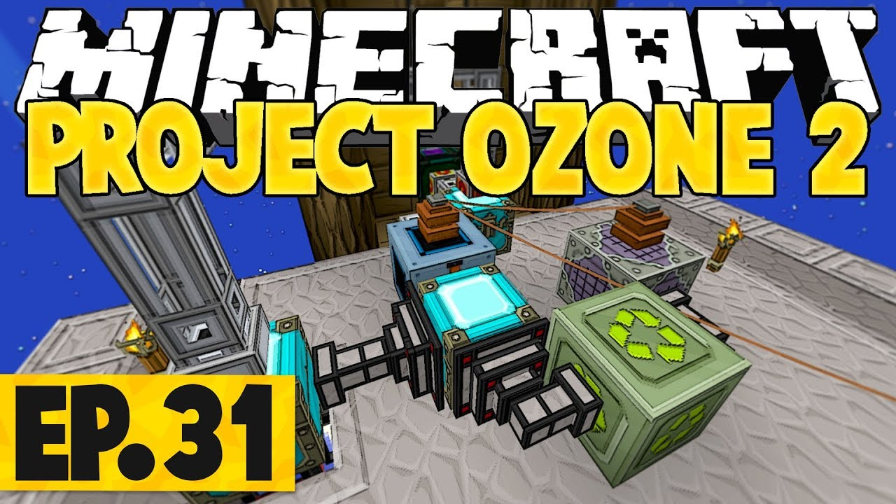 Minecraft Project Ozone 2 Titan Mode - Auto-Loot Bag Recycling! #31 [Modded  Questing Skyblock] by Nik & Isaac