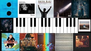 2017: A Year of Music on Piano || 100-SONG MEDLEY