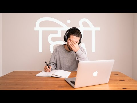 Foreigner Tries To Learn HINDI In 7 days