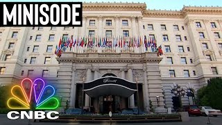 THE RITZY SAN FRANCISCO HOTEL WITH RICH HISTORY | Secret Lives Of The Super Rich