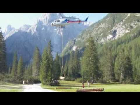 Air Service Center Cortina.Helicopter Air Service Center In Action 3 Youtube