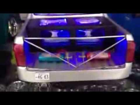รถบังคับแต่งเครื่องเสียง รีวิว : เครื่องเสียงรถบังคับ ชุดที่ 11 by.ช่างเป้ 082-4358636