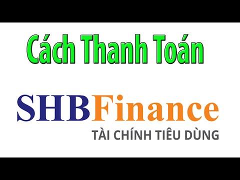Cách Tự Thanh Toán Hợp đồng Vay Tín Dụng SHBFinance Trên điện Thoại.