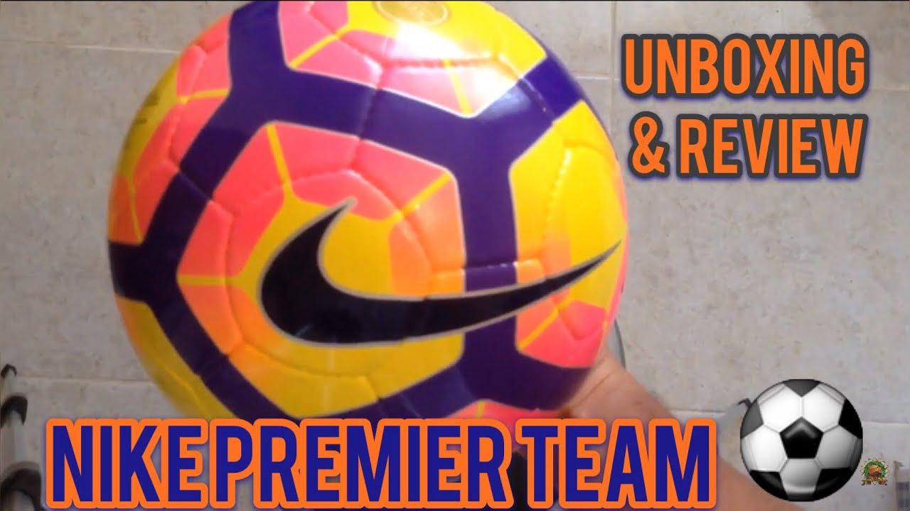 Alerta confiar mariposa  Balón Nike Premier Team Ordem 4 - Unboxing & Review - YouTube