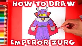 How to Draw Zurg from Toy Story