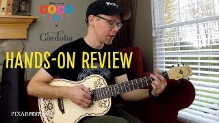 Hands-on Review of the Pixar Coco x Cordoba Guitar - Mini Spruce
