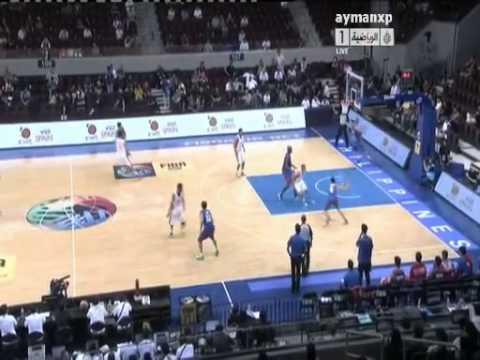 Jordan vs Chinese Taipei (FIBA ASIA 2013, Pre.Round / Game 1)