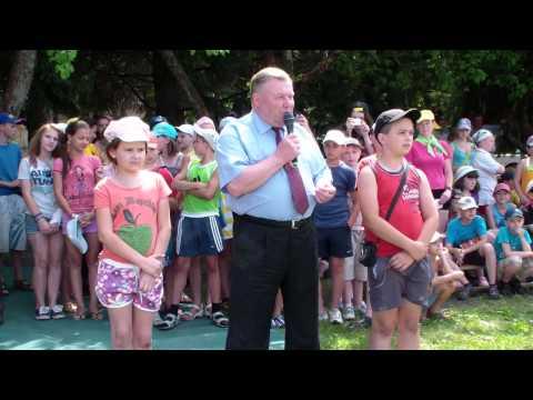 Губернатор Орловской области Александр Козлов принял участие в открытии детских олимпийских игр