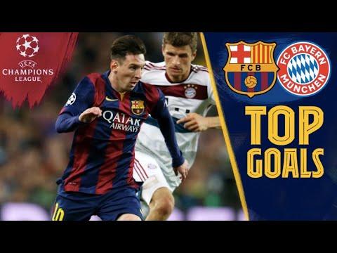 TOP GOALS vs Bayern Munich ????