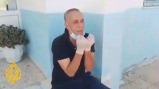 شاهد   انهيار وبكاء مدير مستشفى ماطر في تونس بسبب اقتراب نفاد الأكسجين
