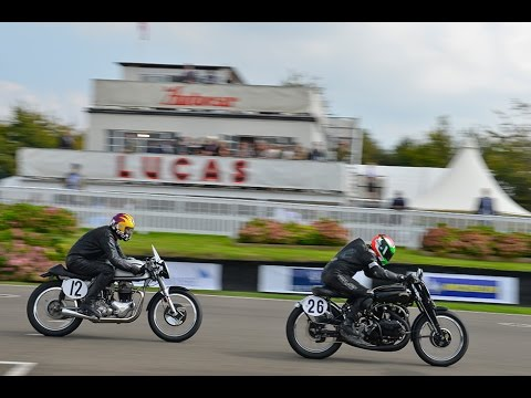 Goodwood Revival 2014 Race Highlights | Barry Sheene Memorial Trophy part two