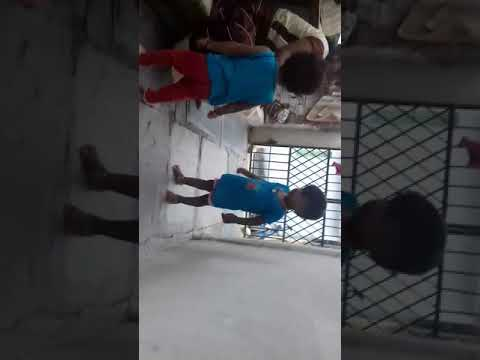 Two Little Girls Are Dance For Bonalu Song