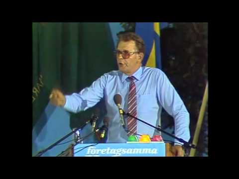 Valet 1982 - Duellen - Olof Palme (S) och Thorbjörn Fälldin (C)