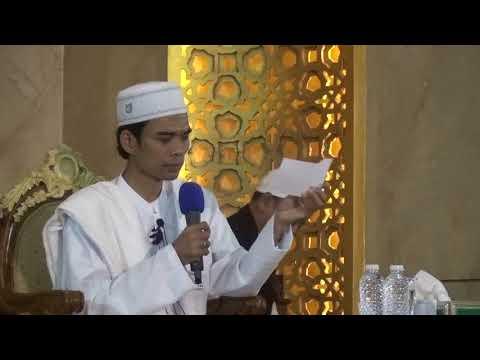 Ustadz Abdul Somad Lc MA sesi tanya Jawab di Masjid Al Ittihad Cibubur, 18 oktober 2017