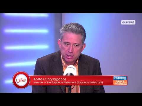 "Kostas Chrysogonos debate with ""U talking To me?"" - 27.01.2015"