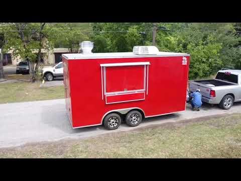 Rent 2 Own Trailers 8x16 Kitchen Trailer