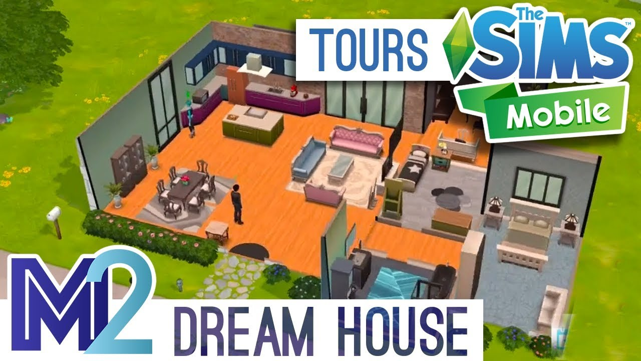 Sims Mobile House Venue Tour Unlocked Items Rooms And