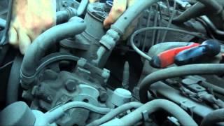 Замена жидкости в ГУР (подробная видеоинструкция)(Музыка Miles Away - Heiko Замена АТФ в механизме гидроусилителя руля. На примере Honda CR-V 2003 На данном автомобиле проб..., 2014-09-21T03:58:20.000Z)