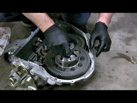 How to install a Limited Slip Differential  in a MINI Cooper S pt2
